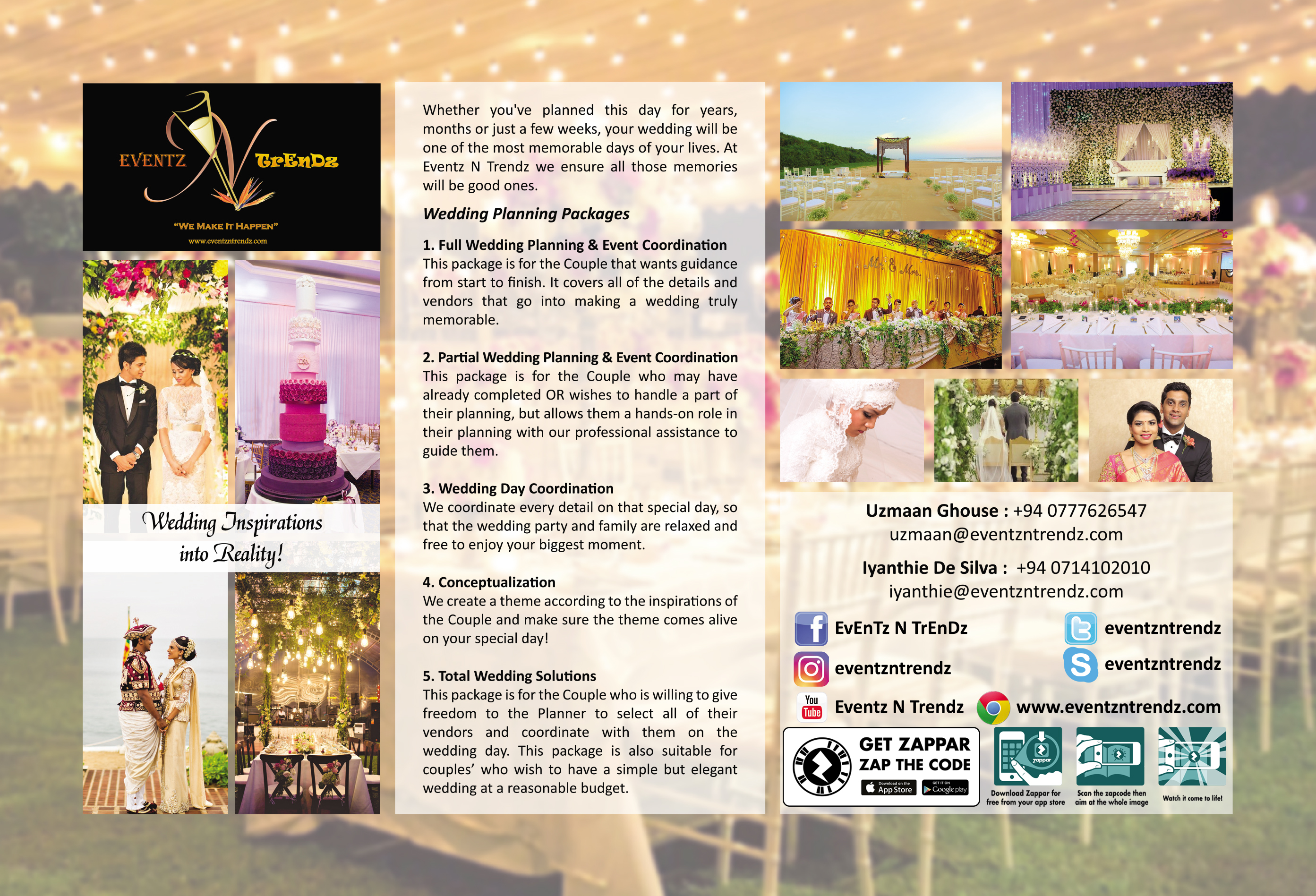 Wedding Event Planning Packages: Wedding Planners In Sri Lanka